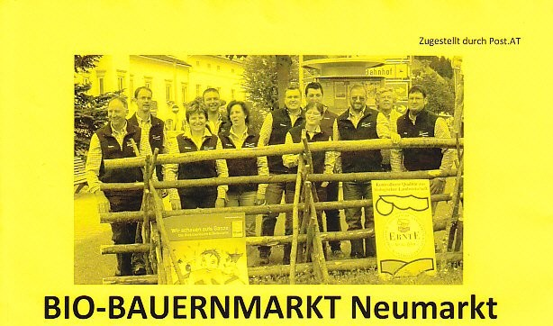 Biobauernmarkt in Neumarkt Steiermark