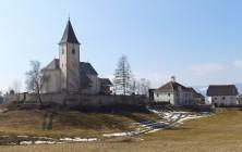 Kirche in Greith bei Neumarkt – Ortsteil St. Marein